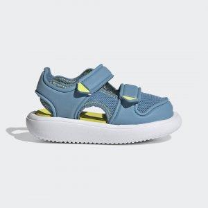 Сандалии Comfort Sportswear adidas. Цвет: желтый