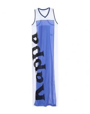 Длинное платье FAITH CONNEXION. Цвет: белый