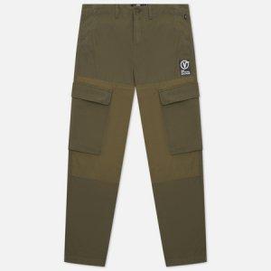 Мужские брюки Response Cargo Vans. Цвет: оливковый