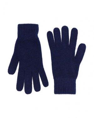 Перчатки SIMON GRAY.. Цвет: темно-синий