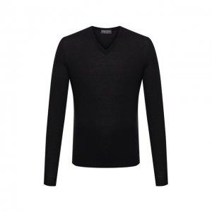 Кашемировый пуловер Ralph Lauren. Цвет: чёрный