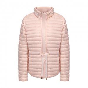 Пуховая куртка MICHAEL Kors. Цвет: розовый