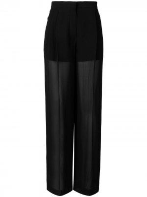 Расклешенные брюки SONIA RYKIEL. Цвет: черный