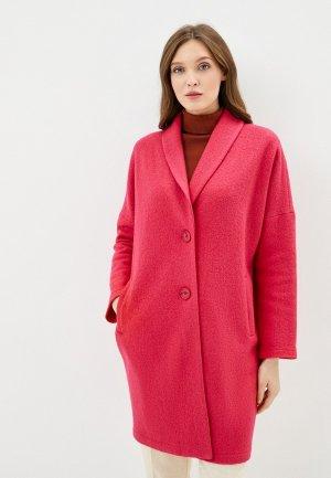 Пальто Steinberg. Цвет: розовый