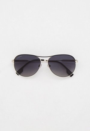 Очки солнцезащитные Burberry BE3122 1005T3. Цвет: серебряный