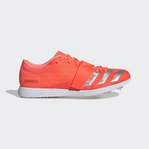 Шиповки для легкой атлетики adizero tj/pv Performance adidas. Цвет: белый