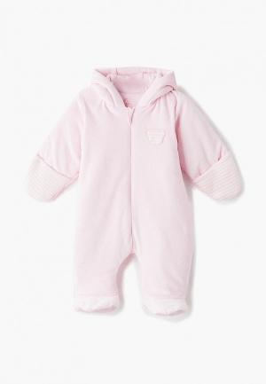 Комбинезон утепленный Fim Baby. Цвет: розовый
