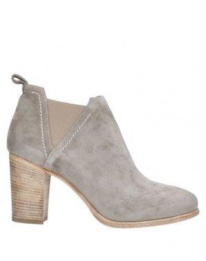 Полусапоги и высокие ботинки FRU.IT. Цвет: серый