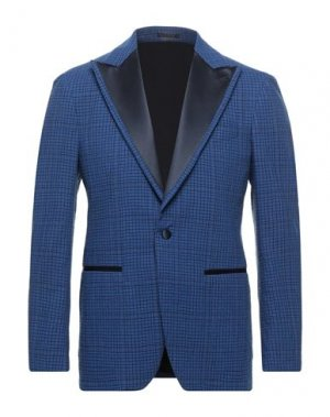 Пиджак GABRIELE PASINI. Цвет: ярко-синий