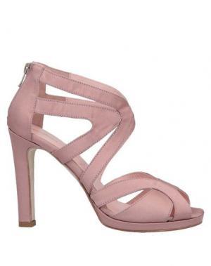 Сандалии ANNA F.. Цвет: пастельно-розовый