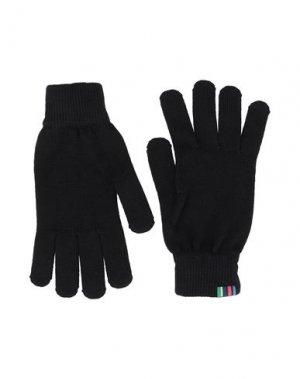 Перчатки PS PAUL SMITH. Цвет: черный