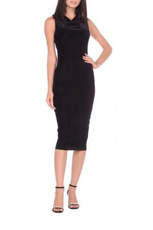 Платье La Via Estelar. Цвет: черный