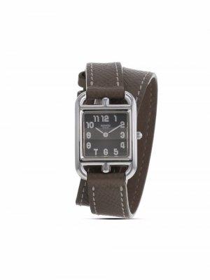 Наручные часы Cape Cod pre-owned 23 мм 2000-го года Hermès. Цвет: серый