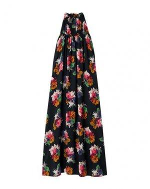 Длинное платье ARIAS. Цвет: черный