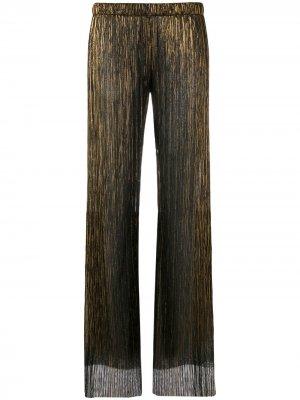 Прямые брюки Fisico. Цвет: черный