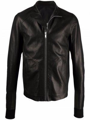 Куртка с высоким воротником Rick Owens. Цвет: черный