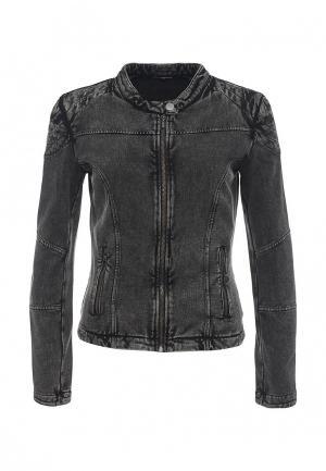Куртка джинсовая Fornarina. Цвет: серый