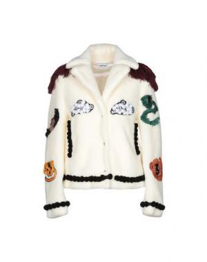 Куртка AU JOUR LE. Цвет: слоновая кость