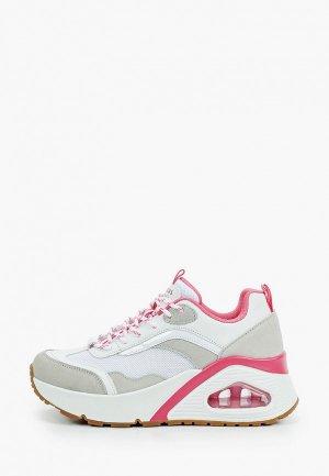 Кроссовки Skechers UNO HI BIG STEPS. Цвет: белый