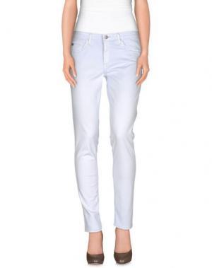 Повседневные брюки AG JEANS. Цвет: небесно-голубой