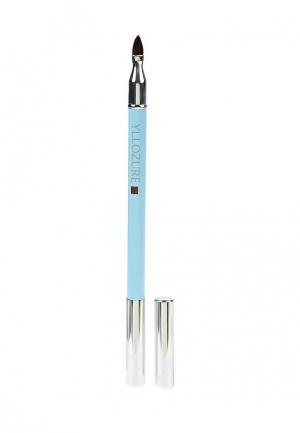 Карандаш для губ Yllozure Контурный водоустойчивый,тон 13, 1,6 гр.. Цвет: коричневый