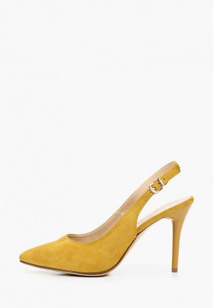 Туфли Francesco Donni. Цвет: желтый