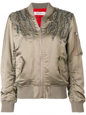 Куртка-бомбер с вышивкой Each X Other