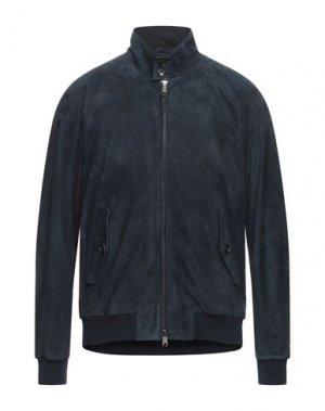 Куртка BARACUTA. Цвет: темно-синий
