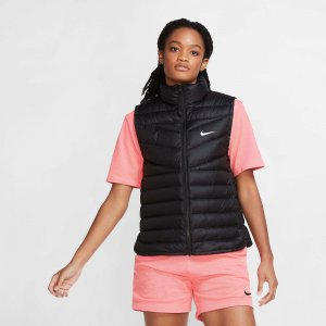 WT Down Vest Nike. Цвет: черный