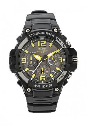Часы Casio Collection MCW-100H-9A. Цвет: черный