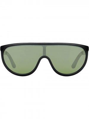 Солнцезащитные очки Hugo Jimmy Choo. Цвет: черный