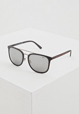 Очки солнцезащитные Polo Ralph Lauren PH4144 52846G. Цвет: черный