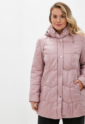 Куртка утепленная Steinberg. Цвет: розовый