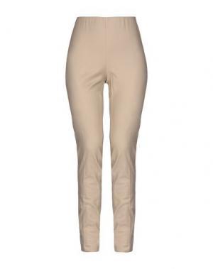 Повседневные брюки LABORATORIO. Цвет: бежевый