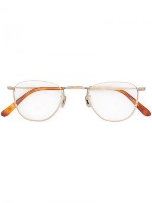 Aviator-style glasses Eyevan7285. Цвет: золотистый
