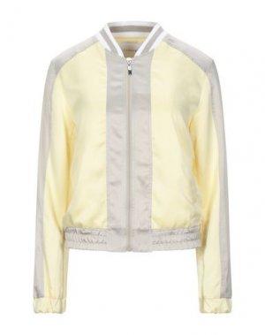 Куртка CAFèNOIR. Цвет: светло-желтый
