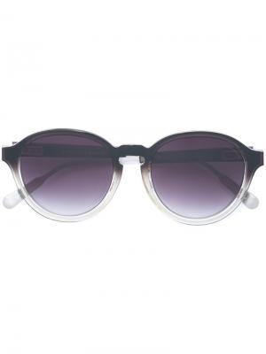 Солнцезащитные очки 79 С1 Kris Van Assche. Цвет: чёрный