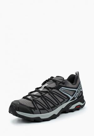Ботинки трекинговые Salomon X ULTRA 3 PRIME. Цвет: серый