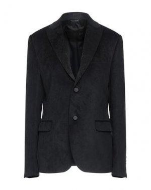 Пиджак GREY DANIELE ALESSANDRINI. Цвет: черный