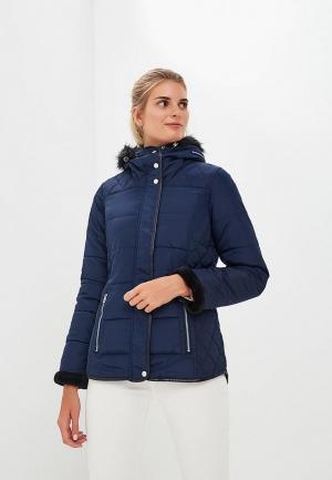 Куртка утепленная Regatta Winika. Цвет: синий