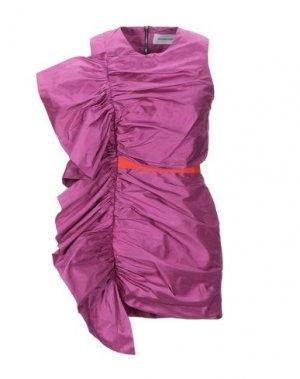 Короткое платье ALEXANDR ROGOV. Цвет: светло-фиолетовый