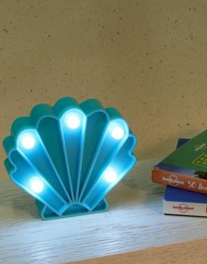 Небольшой светильник в виде ракушки-Мульти Fizz Creations