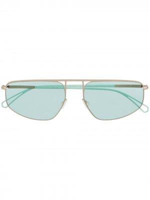 Солнцезащитные очки Nat 812 Mykita. Цвет: золотистый