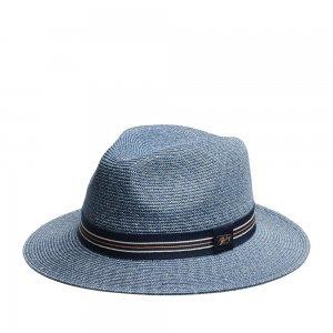 Шляпа федора BAILEY. Цвет: синий