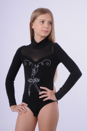 Купальник спортивный: боди Arina Ballerina. Цвет: черный