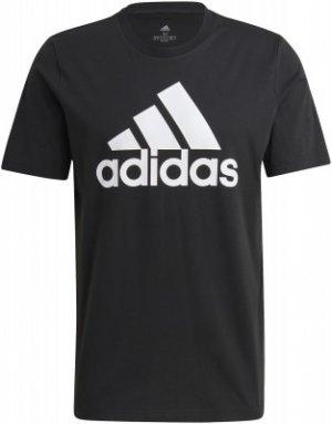 Футболка мужская adidas Essentials, размер 52-54. Цвет: черный