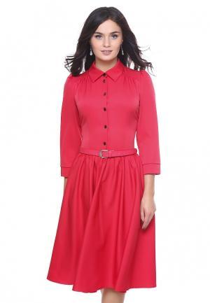 Платье Grey Cat SUSANNA. Цвет: розовый