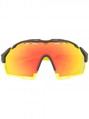 Солнцезащитные очки Cutline Rudy Project. Цвет: оранжевый