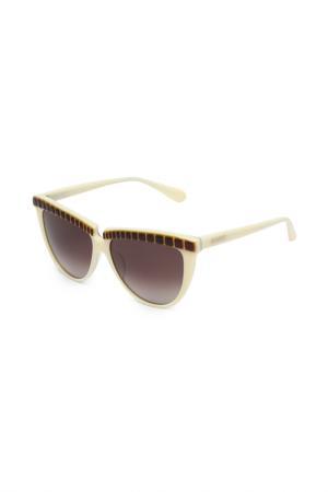 Очки солнцезащитные Balmain. Цвет: ivoir, deg.brun
