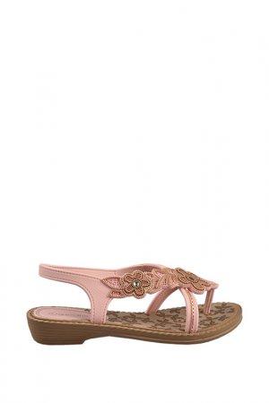 Пантолеты Grendha. Цвет: brown, light pink